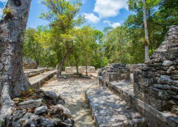 Site de Chicanna, Campeche, Mexique