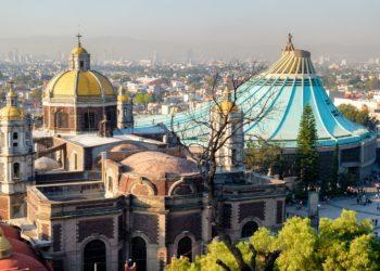 Basilique de Guadalupe, Mexico, Mexique