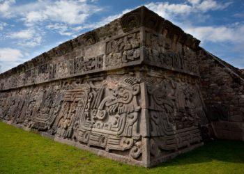 Site de Xochicalco, site préhispanique, Mexique