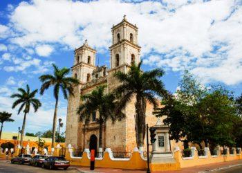 Cathédrale de Valladolid, Yucatan au Mexique