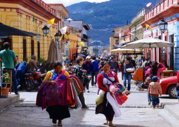 Villages Tzotziles, San Cristobal de las Casas, Chamula, Chiapas au Mexique
