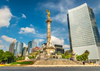 angel de la independencia, paseo de la reforma, Mexico, Mexique