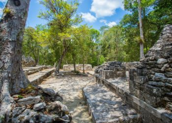Site de Chicanna, Campeche, Mexique