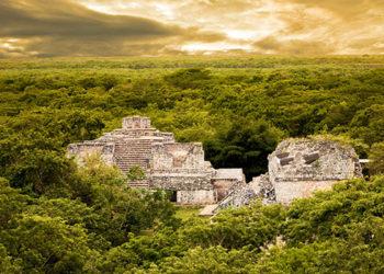 Site, pyramide de Ek Balam, Site archéologique, Xcanche, Yucatan au Mexique, circuit colores, circuit sur-mesure - JPM Tours