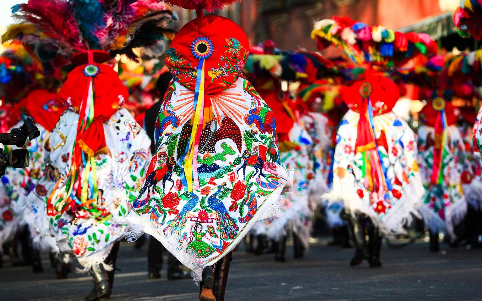 Tradtions, cultures mexicaines, danseurs, Mexico, home page, Mexique - JPM Tours