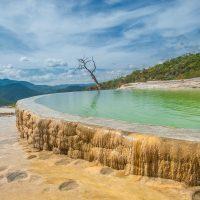 Cascades pétrifiées de Hierve el Agua, Oaxaca, Mexique