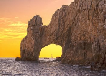 Arc de Los Cabos en Basse Californie au Mexique