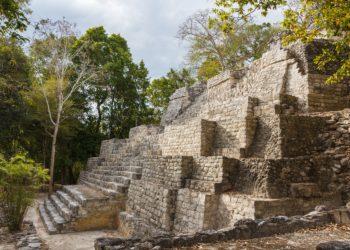 Site de Balamku au Mexique