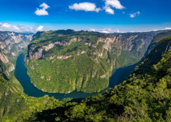 Canyon del Sumidero, Chiapas au Mexique