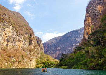 Canyon del Sumidero dans le Chiapas, Chiapa de Corzo au Mexique
