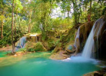 Cascades Roberto Barrios, Chiapas, Mexique, découverte