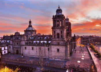 Zocalo, Cathédrale du centre ville, Mexico, capitale, Mexique