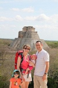 2 semaines magnifiques en famille dans la péninsule du Yucatan