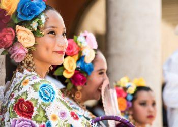 Femme Merida, Yucatan, Mexique