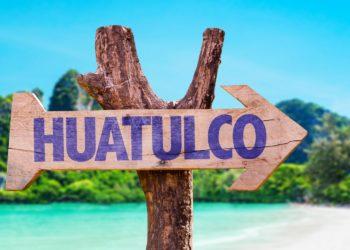 Direction de Huatulco, Oaxaca, Mexique, Côte Pacifique