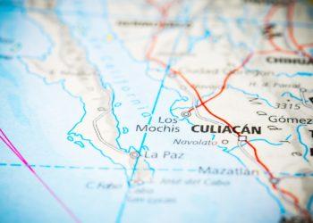 Carte du Mexique, lieu Los Mochis, train, el chepe, Nord du Mexique