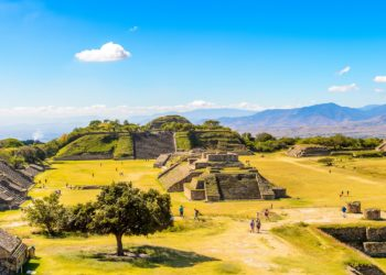 Site de Monte Alban, Oaxaca, Mexique