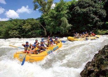 Activité rafting, Jamulco au Mexique