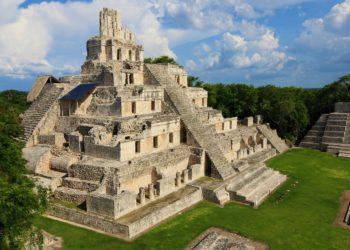 Site d'Edzna, Pyramide, région de Campeche, Mexique