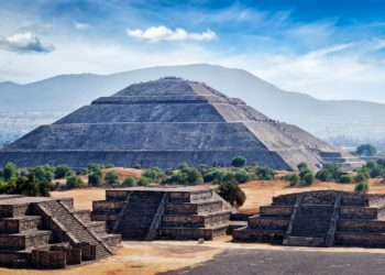 Pyamides, site de Teotihuacan, Mexico et ses alentours, sites archéologique au Mexique