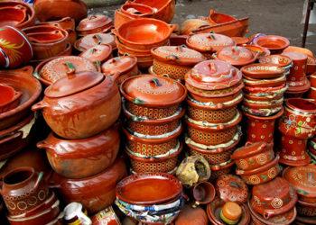 Artisanat et poterie de Tonala au Mexique