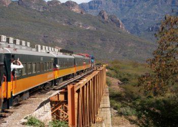 El Chepe, train au Mexique, Nord du Mexique, original, hors des sentiers battus