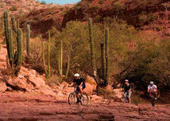 Activités sportives, VTT, aventure en Baja, Basse Californie, Ciudad de Loreto, Mexique