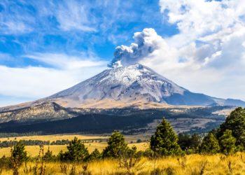 Puebla, Cholula, Volcan Popocatepetl, Mexico et ses alentours, Mexique