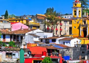 Ville de Xalapa, Golfe du Mexique, couleurs, Mexique