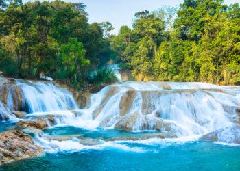 Cascades de Agua Azul, Chiapas au Mexique