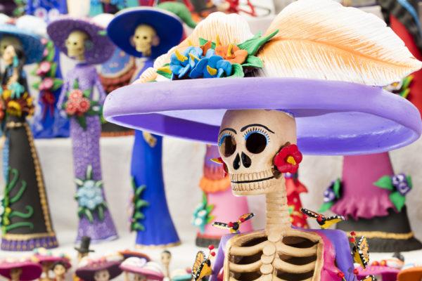 Catrinas, Dia de los Muertos, fête des morts, Mexique, article blog JPM Tours